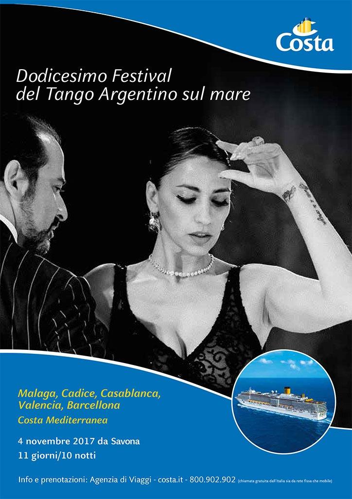 Tango argentino sul mare crociera con marcela y stefano for Alberghi barcellona sul mare